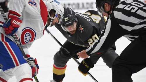 NHL Playoffs Daily: Vegas Golden Knights have center concerns for Game 3 against Montreal Canadiens