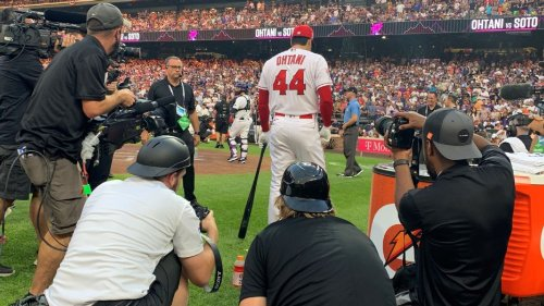 Shohei Ohtani turned professionals into fans at the All-Star Game