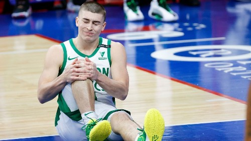 Boston Celtics rookie Payton Pritchard out at least two weeks with right knee sprain