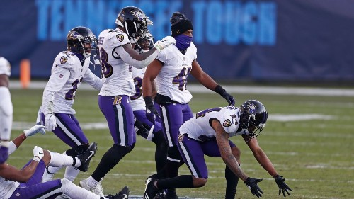 Source: Ravens' Peters fined for midfield stomp