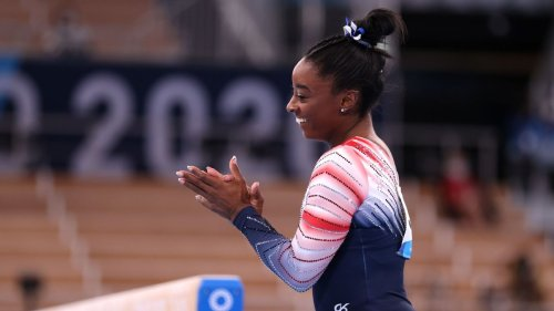 Olympic gymnastics updates: Simone Biles wins bronze on beam in last day of event finals