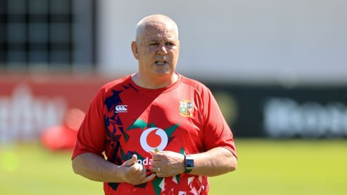 Warren Gatland names Lions team to face Japan