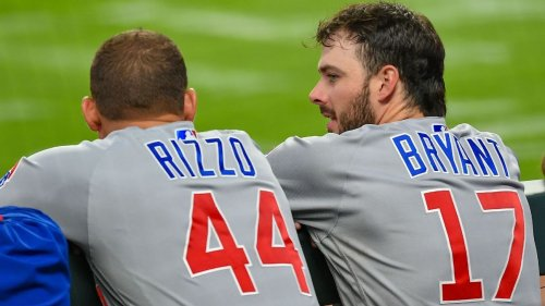 Anthony Rizzo, Kris Bryant not in Chicago Cubs lineup amid trade buzz