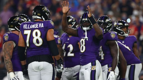 Baltimore Ravens' Lamar Jackson on finally beating Kansas City Chiefs: 'Feels good to get that monkey off of our back'