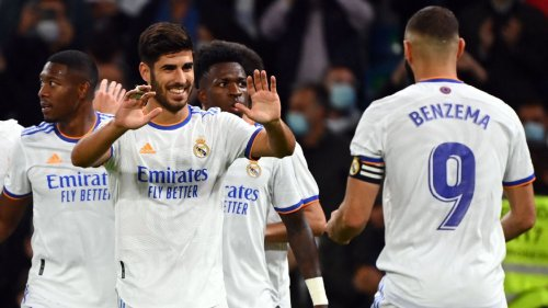 Real Madrid's Marco Asensio gets 9/10 for hat trick in thrashing of Mallorca