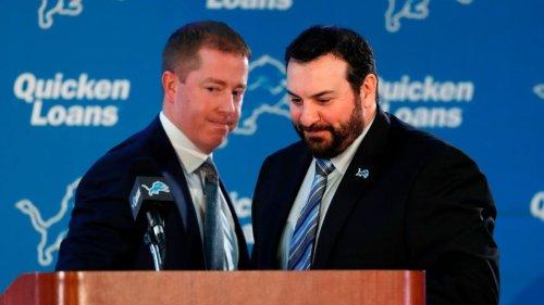 Detroit Lions fire coach Matt Patricia, GM Bob Quinn