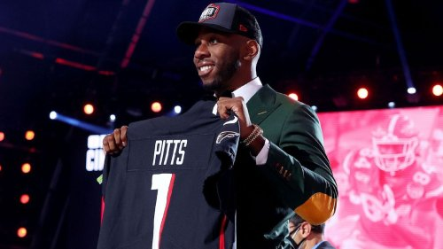 Kyle Pitts to Atlanta Falcons with No. 4 overall pick in NFL draft, highest-selected TE in history