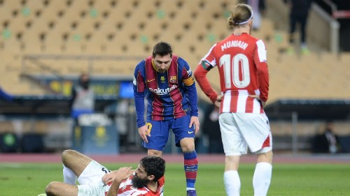 Messi could face 4-match ban for first career red card with Barcelona