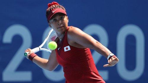 Naomi Osaka wins opening tennis match at Tokyo Olympics, feeling 'refreshed, happy again'
