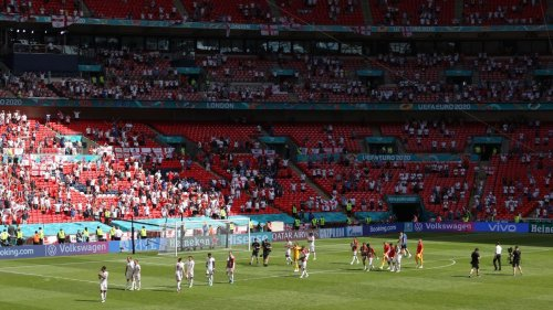 Fan in 'serious condition' after fall at Wembley