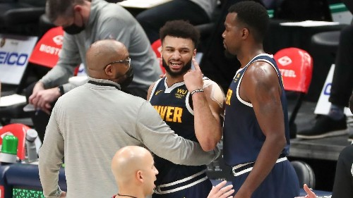 Denver Nuggets' Jamal Murray ejected after hitting Dallas Mavericks' Tim Hardaway Jr. in groin