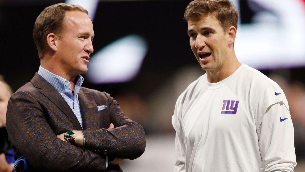 Peyton Manning, Eli Manning to headline alternate Monday Night Football broadcast