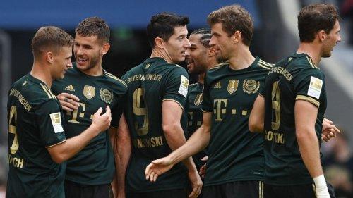 Bayern Munich's Oktoberfest kit a hit as Bundesliga champions win 7-0