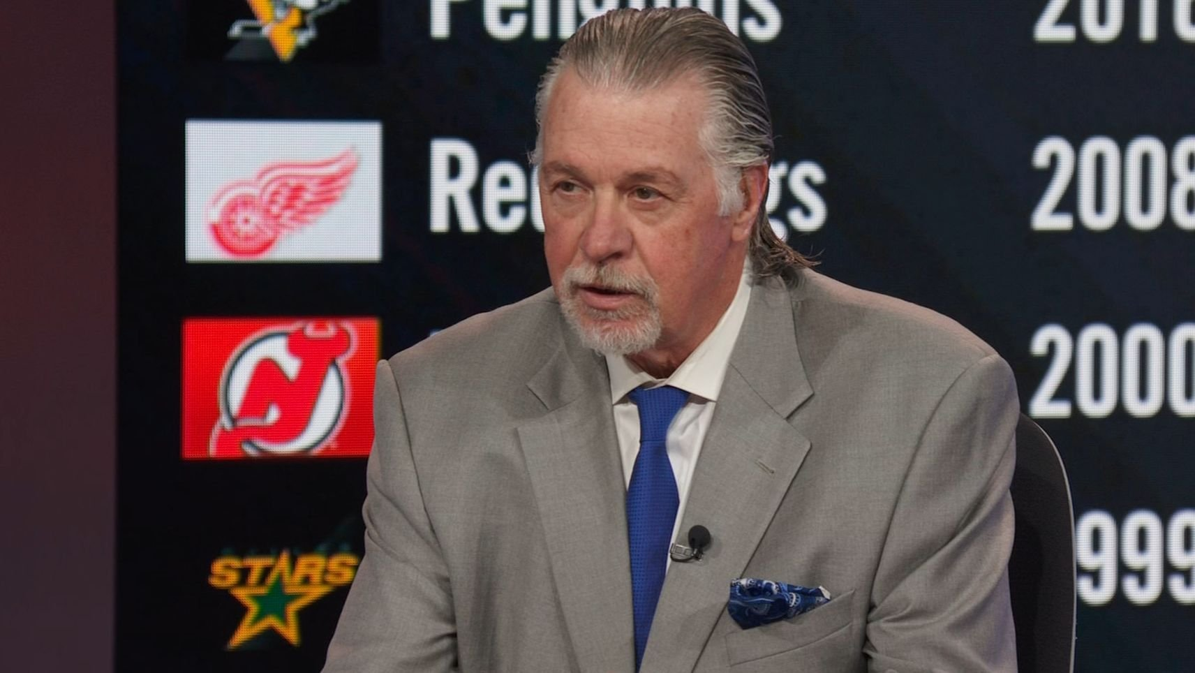 Barry Melrose makes his Stanley Cup prediction