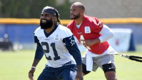 Leaner, meaner Ezekiel Elliott? Cowboys running back's offseason work showing already
