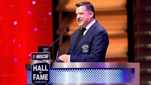 NASCAR's Tony Stewart engaged to NHRA drag racer Leah Pruett