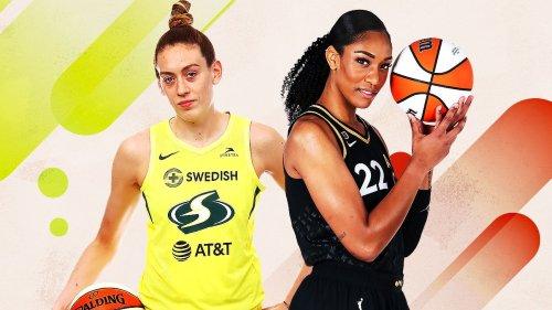 A'ja Wilson on Breanna Stewart and Breanna Stewart on A'ja Wilson -- WNBA stars break down each other's game