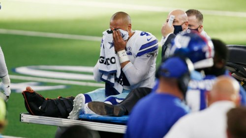Dak Prescott of Dallas Cowboys out of surgery for compound fracture, dislocation of right ankle