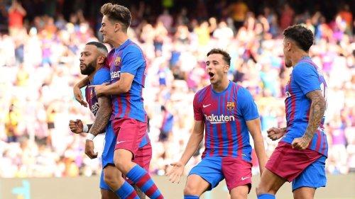 Dest, Depay and Gavi shine for Barca; Ansu Fati scores on return