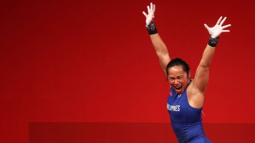 Hidilyn Diaz sets new Olympic record, wins Philippines' first-ever Olympic gold medal