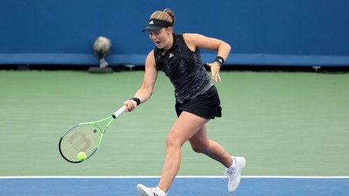 Jelena Ostapenko sets up final with Clara Tauson at Luxembourg Open