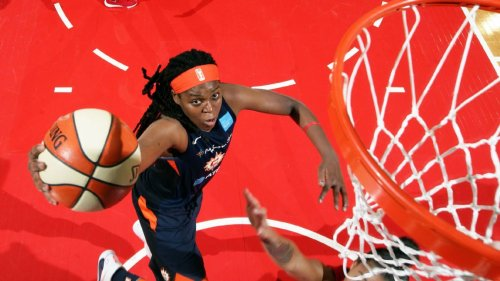 Jonquel Jones of Connecticut Sun is only unanimous selection in balloting for All-WNBA first team
