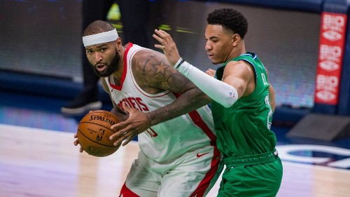 Houston Rockets' DeMarcus Cousins flashes past dominance with cathartic 28-point, 17-rebound night