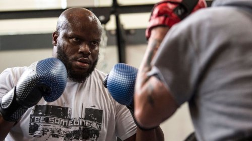 UFC 265: George Foreman couldn't convince Derrick Lewis to box, but he's still in his corner