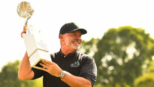 Darren Clarke wins PGA Tour Champions playoff in Sioux Falls