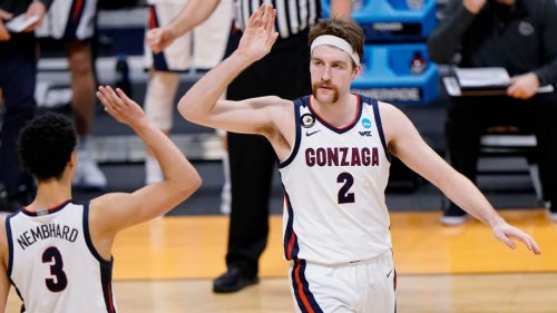 Drew Timme, Gonzaga keep 'bringing our all, every single game,' as No. 1 Bulldogs march onto Sweet 16 of NCAA men's basketball tournament