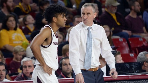 Arizona State basketball coach Bobby Hurley reprimanded by Pac-12 for comments about refs