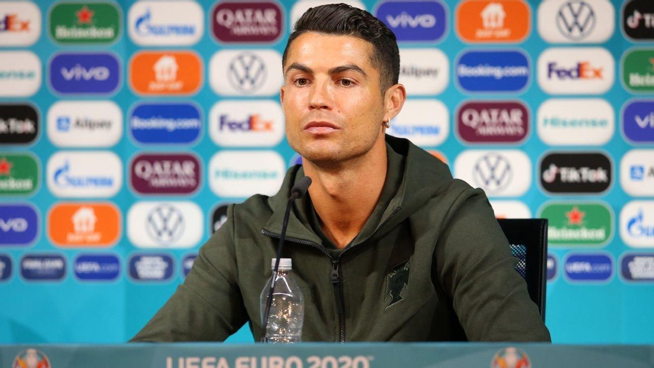 Cristiano Ronaldo snub sees Coca-Cola market value fall by $4bn
