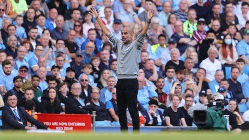 Pep Guardiola fumes at Man City fans, but he's really angry at his attacking options