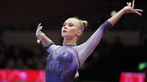 Angelina Melnikova wins all-around final at gymnastics worlds
