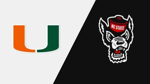 #9 Miami vs. NC State (Baseball) | Watch ESPN