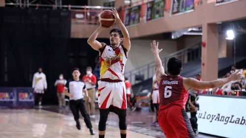 Terrence Romeo tops in scoring, Robert Bolick leads in assists
