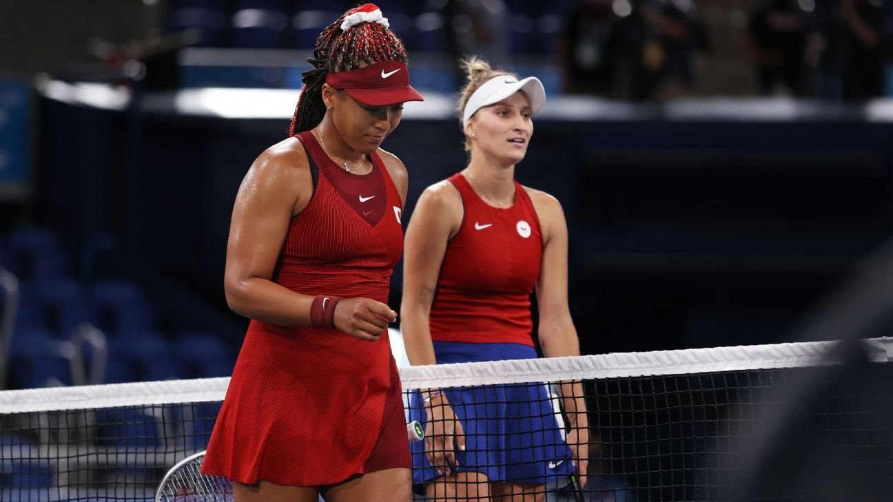 Naomi Osaka ousted from Olympic tennis tournament in 3rd round by Marketa Vondrousova
