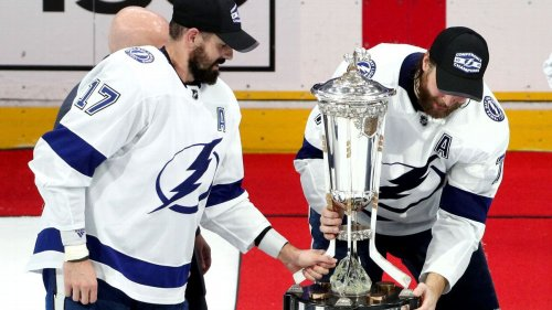 NHL won't award famed conference championship trophies during Stanley Cup playoffs, league says