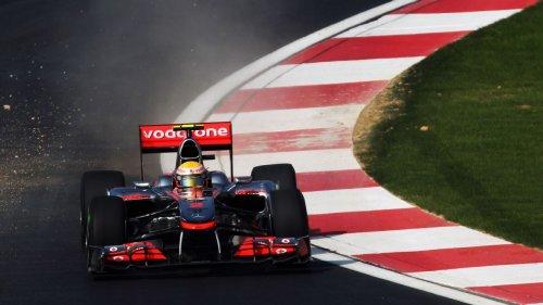 Ex-Hamilton F1 car could fetch $7m at auction