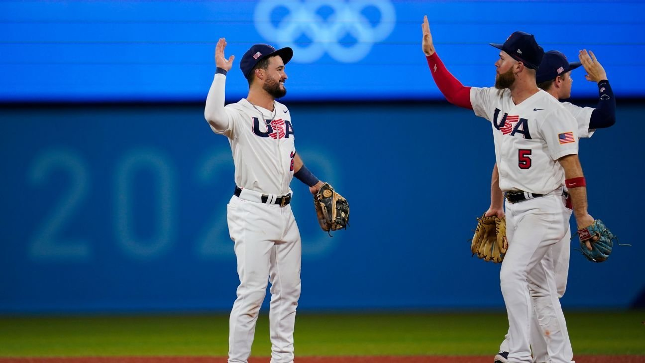 United States beats South Korea to reach baseball gold-medal game