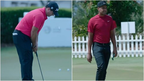 Some PGA Tour members wear red in honor of Tiger - ESPN Video