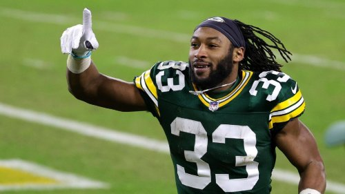 Aaron Jones gave Packers plenty of reasons to play running back roulette