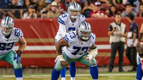 Source: Giants to sign former Cowboys C Looney