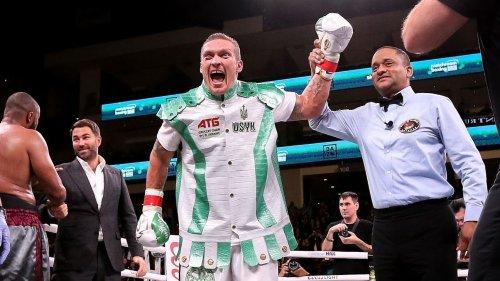 'He's a true heavyweight now': Oleksandr Usyk ready for Anthony Joshua