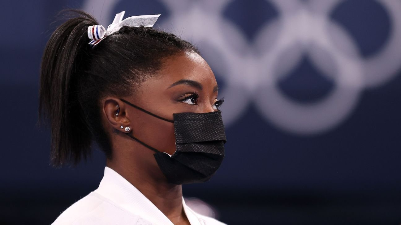 Simone Biles withdraws from individual all-around competition to focus on mental well-being