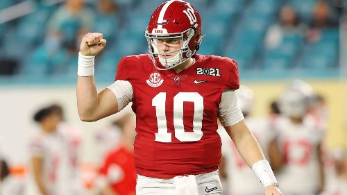 Alabama Crimson Tide QB Mac Jones, three others declare for NFL draft