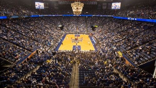 Some Kentucky faculty want name change for arena named after former basketball coach Adolph Rupp