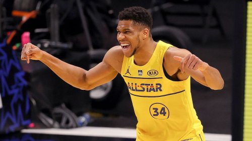 Giannis Antetokounmpo, perfect in Team LeBron win, nabs NBA All-Star Game MVP