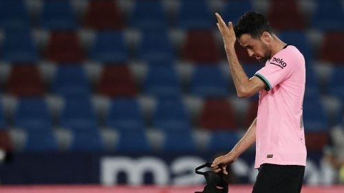 Busquets: Barca's La Liga hopes 'practically over'