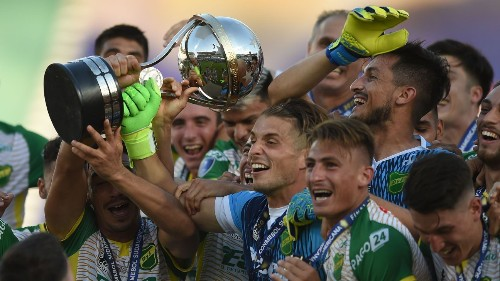 Hernan Crespo takes Defensa y Justicia's identity, and some of his own, and delivers an unlikely Copa Sudamericana